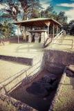 Idole im Nationalpark San Augustin lizenzfreie stockbilder