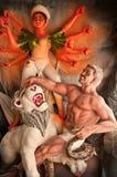 Idole indou de déesse Images libres de droits