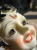 Idole indou de Krishna de Dieu Photographie stock