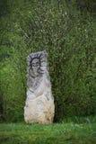 Idole nahe der Festung von Urich stockfotografie