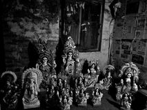 Idole von Göttin saraswati lizenzfreies stockfoto