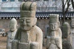 Idoles en pierre Photographie stock libre de droits