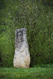 Idoles près de la forteresse d'Urich Photographie stock