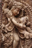 Idolo del krishna del signore immagini stock