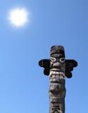 idolo di legno Fotografie Stock
