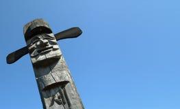 idolo di legno Immagini Stock