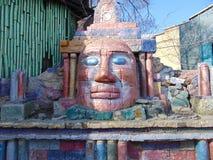 Idolo di pietra Immagini Stock