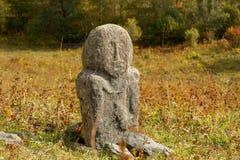 Idolo di pietra antico Fotografia Stock Libera da Diritti