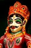 Idolo di un indiano decorato Dio Fotografia Stock Libera da Diritti
