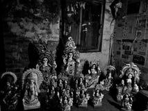 Idols of goddess saraswati Royalty Free Stock Photo