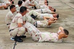 Idoneità fisica annuale provata Fotografia Stock Libera da Diritti
