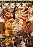 Idool van godin Devi Durga Stock Afbeeldingen