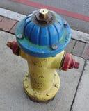 Idrante antincendio Colorfully dipinto Fotografia Stock Libera da Diritti