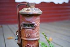 Idrante antincendio d'annata APERTO Immagine Stock Libera da Diritti