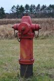 Idrante antincendio del paese Immagine Stock Libera da Diritti