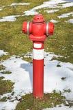Idrante antincendio nell'inverno all'aperto Fotografia Stock Libera da Diritti