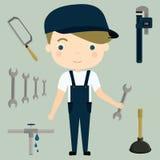 idraulico royalty illustrazione gratis