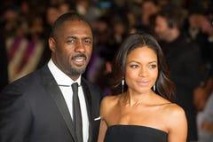 Idris Elba, Naomi Harris Fotos de Stock