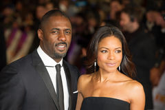 Idris Elba,Naomi Harris Stock Photos