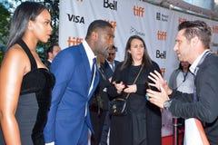 Idris Elba przy Toronto międzynarodowym ekranowym festiwalem Obraz Royalty Free