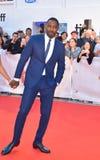 Idris Elba at toronto international film festival 2017. Actor Idris Elba at premiere of `The Mountain Between Us` during the 2017 Toronto International Film Royalty Free Stock Photos