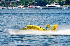 Idro barca della corsa Fotografia Stock