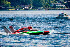 Idro barca della corsa Immagini Stock Libere da Diritti