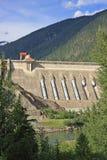 Idro diga elettrica concreta immagine stock libera da diritti