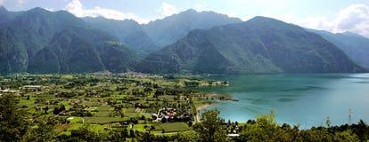 Idro jezioro Obrazy Royalty Free