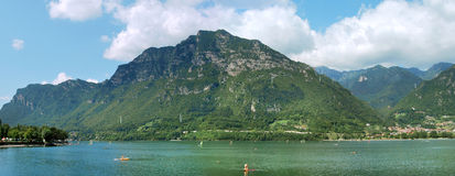Idro lake. Garda area in the brescia country Stock Photos