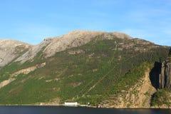 Idro stazione norvegese Immagine Stock