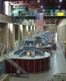 Idro turbine elettriche fotografia stock
