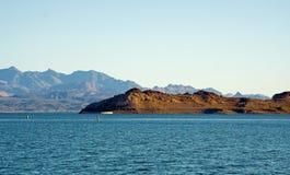 Idromele del lago Fotografia Stock