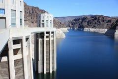 Idromele del lago con l'orologio di tempo del Nevada Immagini Stock Libere da Diritti