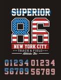 Idrotts- överman New York City Arkivfoton