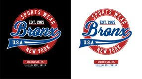 Idrotts- Brooklyn vektor Arkivbilder