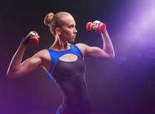 idrotts- flicka royaltyfria foton