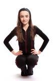 idrotts- flicka royaltyfri bild