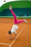 idrotts- flicka Royaltyfria Bilder
