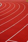 idrotts- spår Royaltyfri Foto