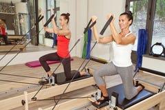 Idrottshall för Pilates royaltyfria bilder