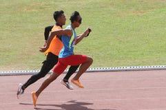 idrottsman nenar förblindar Fotografering för Bildbyråer