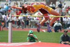 idrottsman nenkvinnlig Arkivbilder