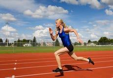 idrottsman nenrunning arkivfoton