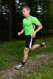 idrottsman nenrunning Royaltyfri Bild