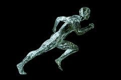 idrottsman nenvatten Arkivbilder