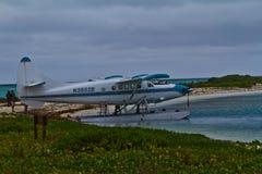 Idrovolante di Key West a Tortugas asciutto Fotografie Stock Libere da Diritti