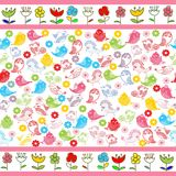 Ids seamless pattern Royalty Free Stock Images