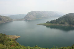 Idukki Dam at Kerala - Asias Largest Arch Dam Royalty Free Stock Photos