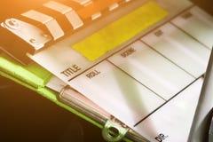 Idustry utrustning för film royaltyfria bilder